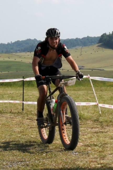 Fat bike finish