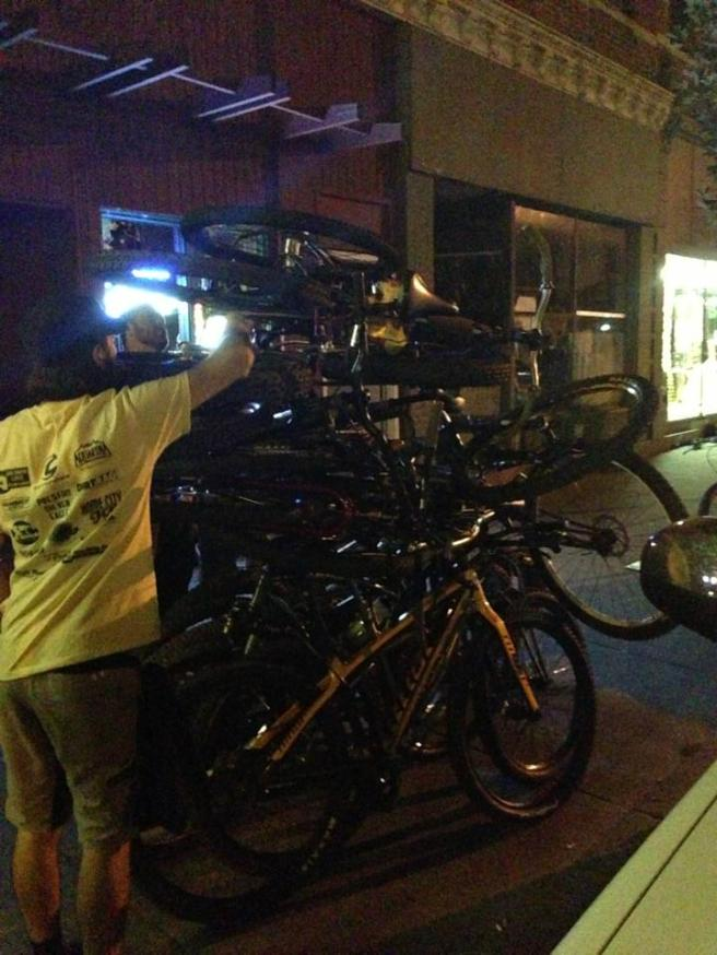 SSUSA bike pile